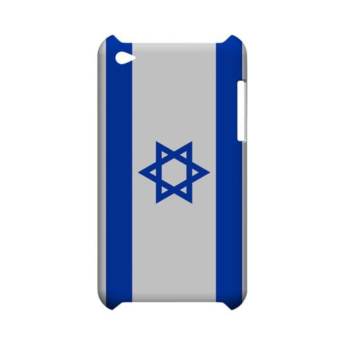 Israel Geeks Designer Line Flag Series Slim Hard Case for Apple iPod Touch 4