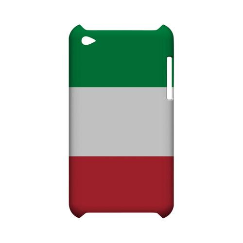 Italy Geeks Designer Line Flag Series Slim Hard Case for Apple iPod Touch 4