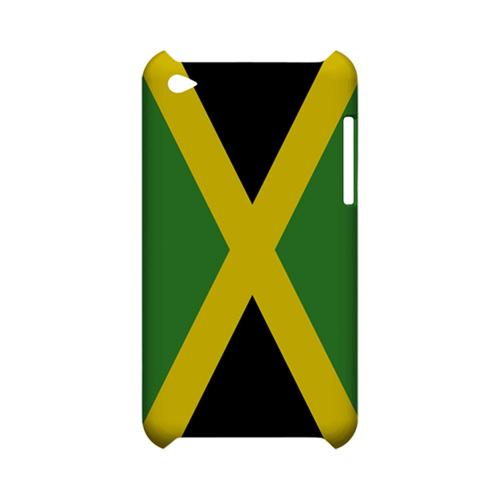Jamaica Geeks Designer Line Flag Series Slim Hard Case for Apple iPod Touch 4