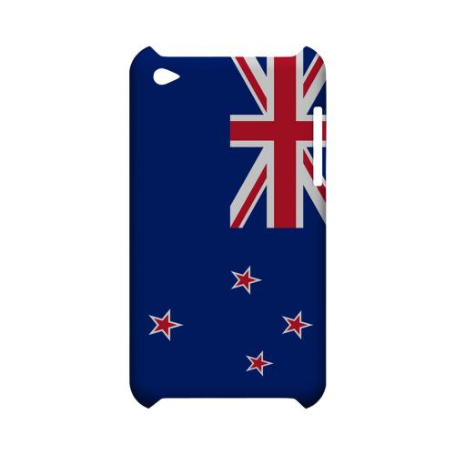 New Zealand Geeks Designer Line Flag Series Slim Hard Case for Apple iPod Touch 4