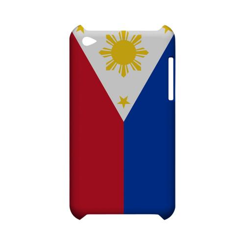 Philippines Geeks Designer Line Flag Series Slim Hard Case for Apple iPod Touch 4