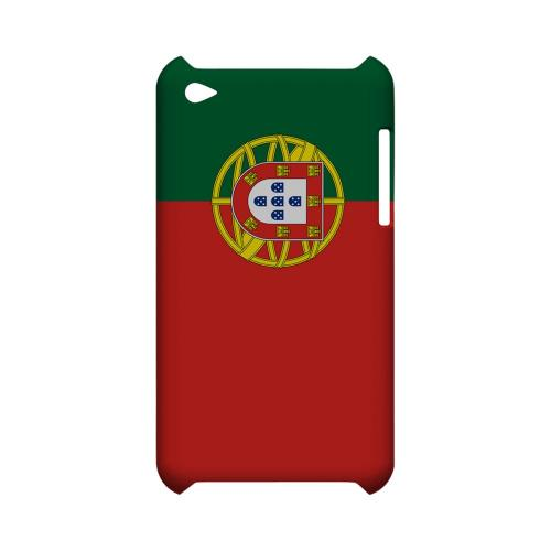 Portugal Geeks Designer Line Flag Series Slim Hard Case for Apple iPod Touch 4