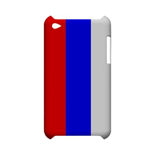 Russia Geeks Designer Line Flag Series Slim Hard Case for Apple iPod Touch 4