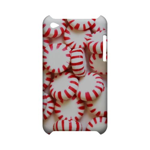 Peppermints Geeks Designer Line Candy Series Slim Hard Back Cover for Apple iPod Touch 4