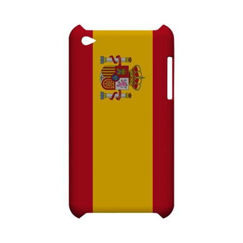 Spain Geeks Designer Line Flag Series Slim Hard Case for Apple iPod Touch 4