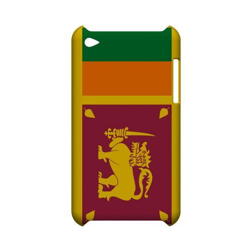 Sri Lanka Geeks Designer Line Flag Series Slim Hard Case for Apple iPod Touch 4