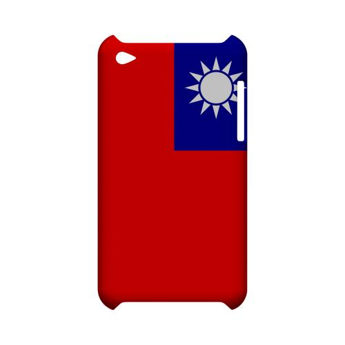 Taiwan Geeks Designer Line Flag Series Slim Hard Case for Apple iPod Touch 4