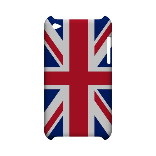 United Kingdom Geeks Designer Line Flag Series Slim Hard Case for Apple iPod Touch 4