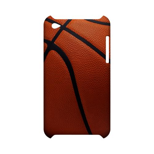 Basketball Geeks Designer Line Sports Series Slim Hard Case for Apple iPod Touch 4