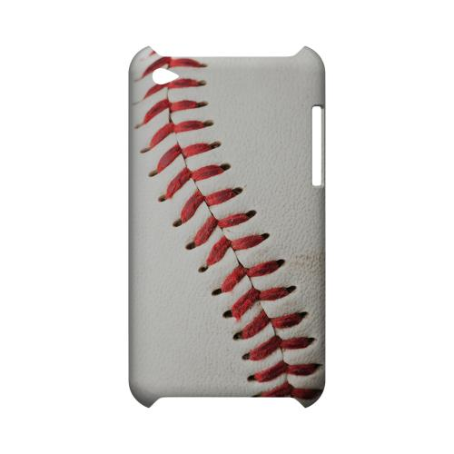 Baseball Geeks Designer Line Sports Series Slim Hard Case for Apple iPod Touch 4