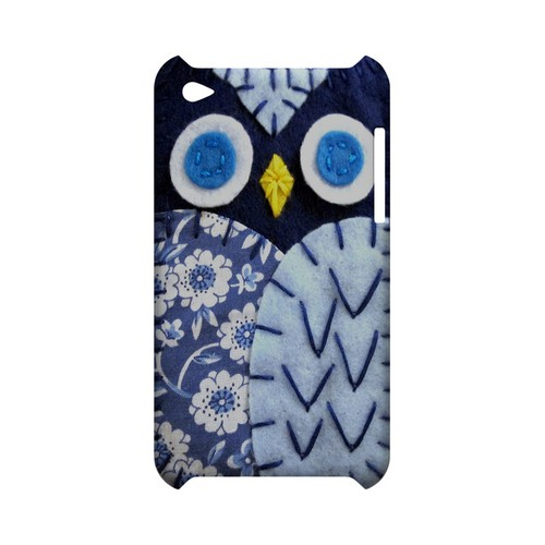Night Blue Owl Geek Nation Program Exclusive Jodie Rackley Series Hard Case for Apple iPod Touch 4