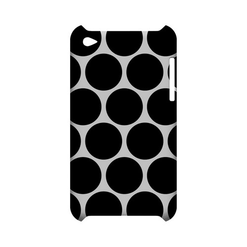 Big & Black Geeks Designer Line Polka Dot Series Slim Hard Case for Apple iPod Touch 4