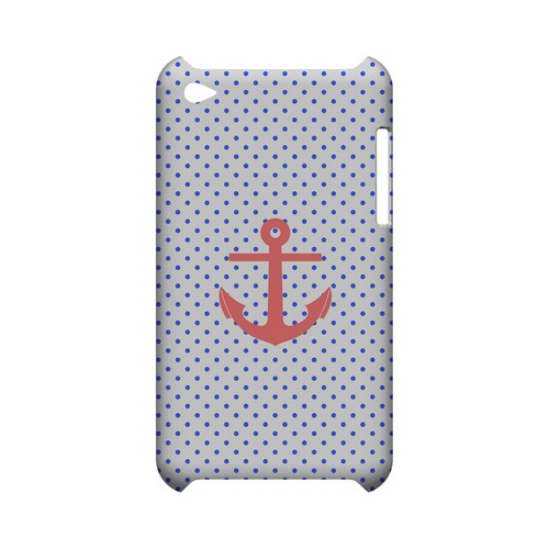 Anchor Geeks Designer Line Polka Dot Series Slim Hard Case for Apple iPod Touch 4