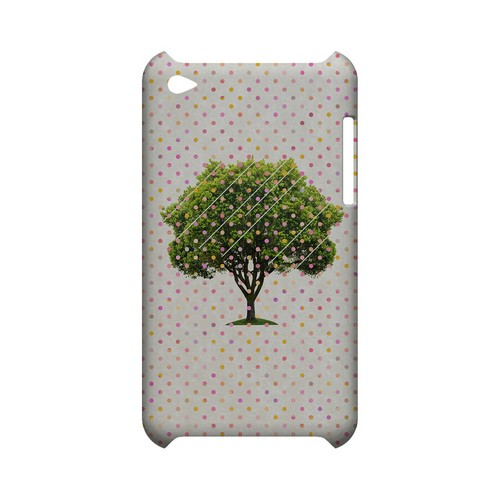 Tree Geeks Designer Line Polka Dot Series Slim Hard Case for Apple iPod Touch 4