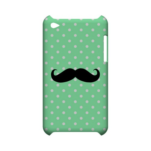 Stache on Mint Geeks Designer Line Polka Dot Series Slim Hard Case for Apple iPod Touch 4