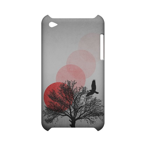 Sunset Fade Geeks Designer Line Polka Dot Series Slim Hard Case for Apple iPod Touch 4