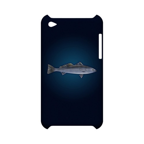 White Sea Bass - Geeks Designer Line (GDL) Fish Series Hard Back Cover for Apple iPod Touch 4