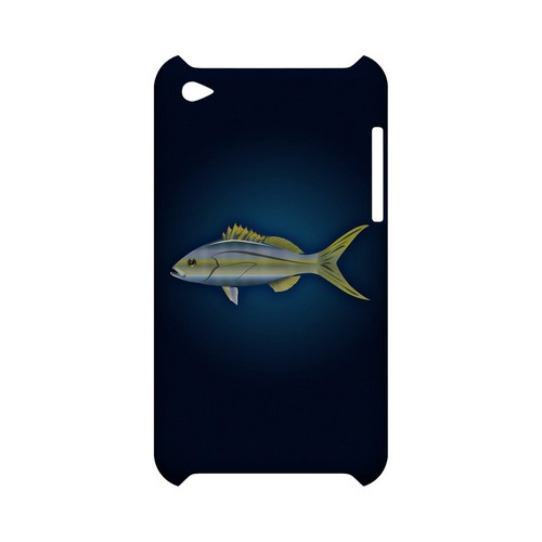 Yellowtail - Geeks Designer Line (GDL) Fish Series Hard Back Cover for Apple iPod Touch 4