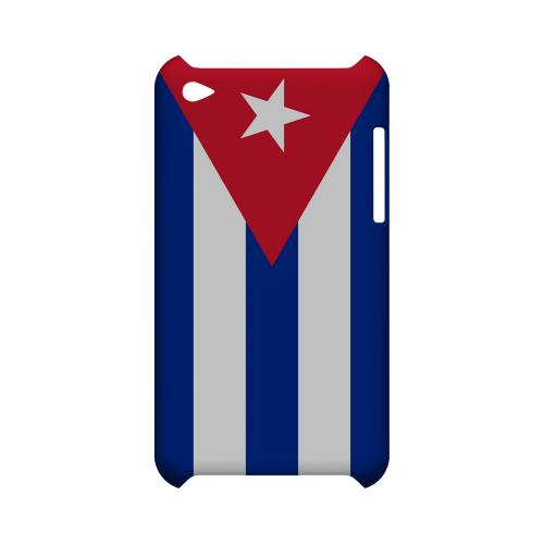 Cuba Geeks Designer Line Flag Series Slim Hard Case for Apple iPod Touch 4