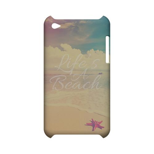 Life's A Beach Geeks Designer Line Beach Series Slim Hard Case for Apple iPod Touch 4