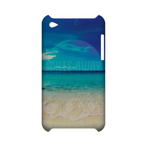 Miles Away Geeks Designer Line Beach Series Slim Hard Case for Apple iPod Touch 4