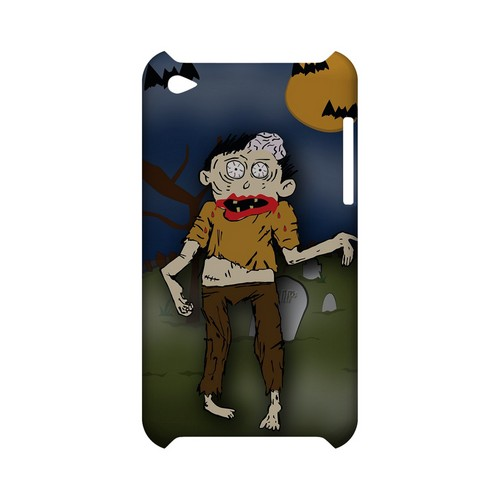 Zombie in Graveyard - Geeks Designer Line (GDL) Monster Mash Series Hard Back Cover for Apple iPod Touch 4
