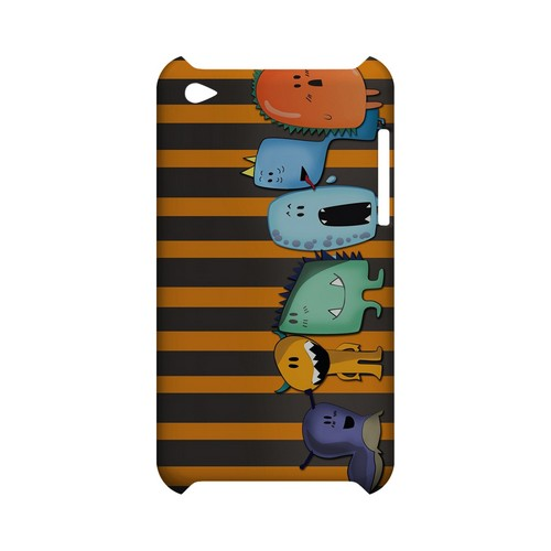 ZORGBLATS Line Up - Geeks Designer Line (GDL) Monster Mash Series Hard Back Cover for Apple iPod Touch 4
