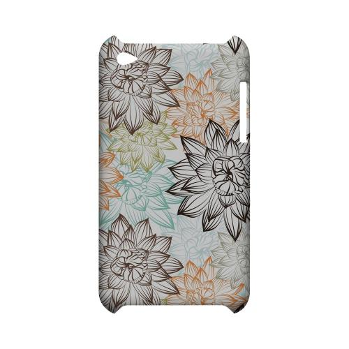 Floral Explosion - Geeks Designer Line Floral Series Hard Case for Apple iPod Touch 4