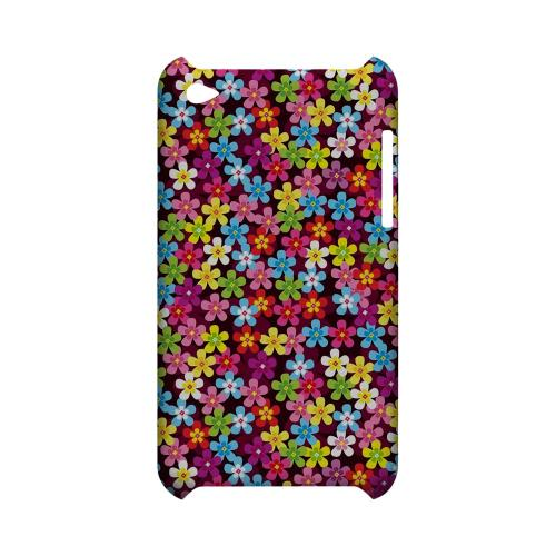 Multi-Colored Flowers - Geeks Designer Line Floral Series Hard Case for Apple iPod Touch 4