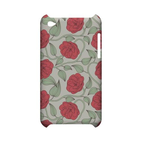 Roses & Vines - Geeks Designer Line Floral Series Hard Case for Apple iPod Touch 4