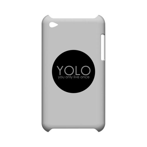 YOLO Circle - Geeks Designer Line YOLO Series Hard Case for Apple iPod Touch 4