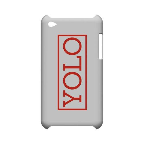 Red YOLO - Geeks Designer Line YOLO Series Hard Case for Apple iPod Touch 4