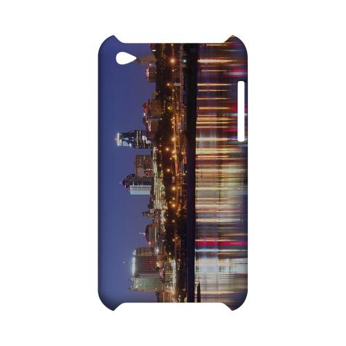Kansas City - Geeks Designer Line City Series Hard Case for Apple iPod Touch 4