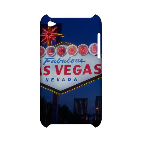 Las Vegas - Geeks Designer Line City Series Hard Case for Apple iPod Touch 4