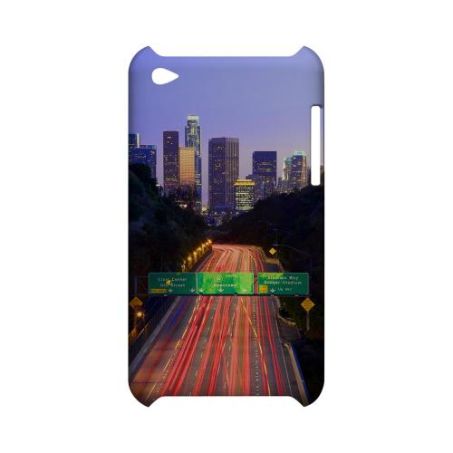 Los Angeles - Geeks Designer Line City Series Hard Case for Apple iPod Touch 4