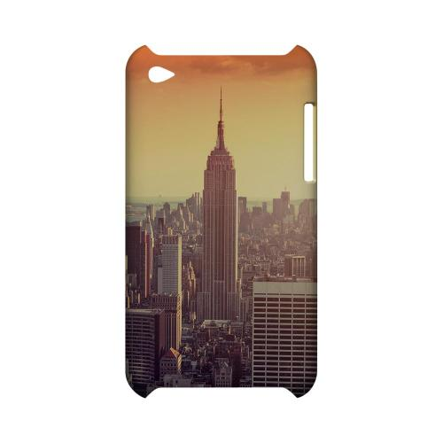 New York - Geeks Designer Line City Series Hard Case for Apple iPod Touch 4