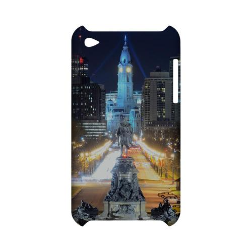 Philadelphia - Geeks Designer Line City Series Hard Case for Apple iPod Touch 4