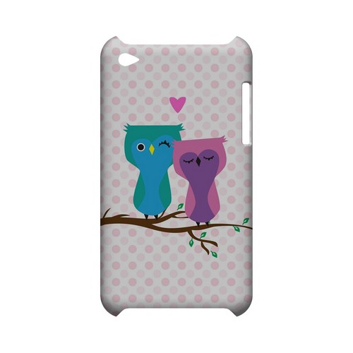 Owl Love You Forever - Geeks Designer Line (GDL) Owl Series Hard Back Cover for Apple iPod Touch 4