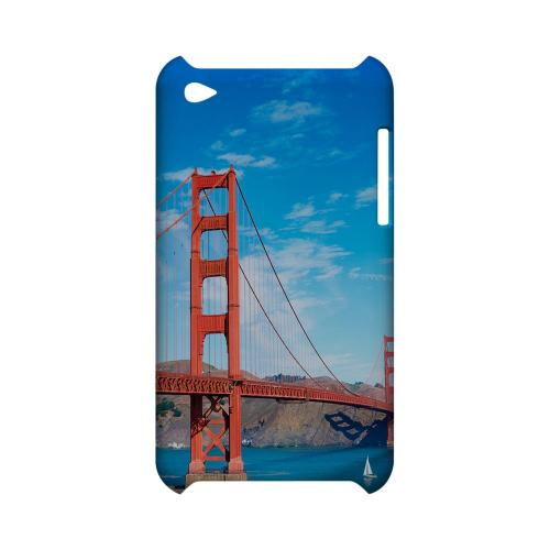San Francisco - Geeks Designer Line City Series Hard Case for Apple iPod Touch 4