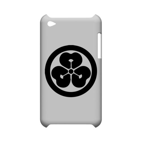 Katabami Kamon v.4 - Geeks Designer Line Tattoo Series Hard Case for Apple iPod Touch 4