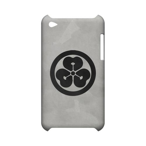 Katabami Kamon on Paper v.4 - Geeks Designer Line Tattoo Series Hard Case for Apple iPod Touch 4
