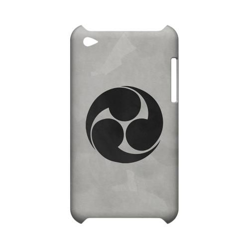 Tomoe Kamon on Paper v.1 - Geeks Designer Line Tattoo Series Hard Case for Apple iPod Touch 4