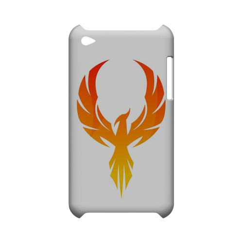 Phoenix Flame - Geeks Designer Line Tattoo Series Hard Case for Apple iPod Touch 4