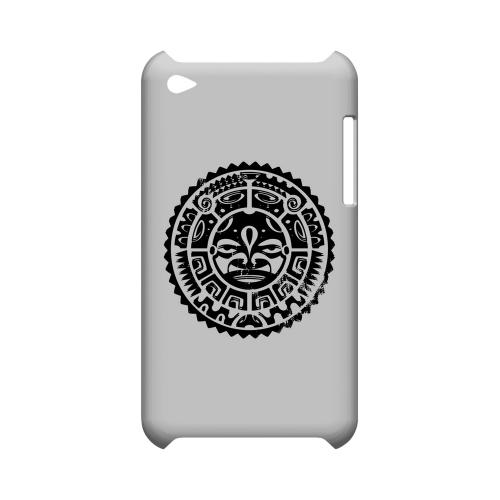Polynesian Face - Geeks Designer Line Tattoo Series Hard Case for Apple iPod Touch 4