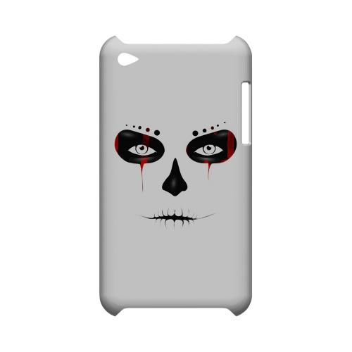 Skull Face Blood - Geeks Designer Line Tattoo Series Hard Case for Apple iPod Touch 4
