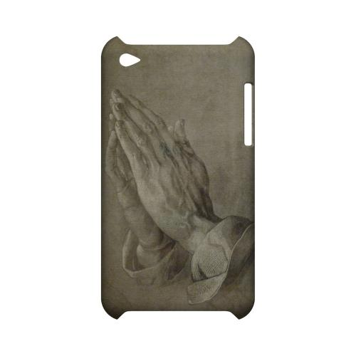 Albrecht Durer Praying Hands Geeks Designer Line Artist Series Slim Hard Case for Apple iPod Touch 4