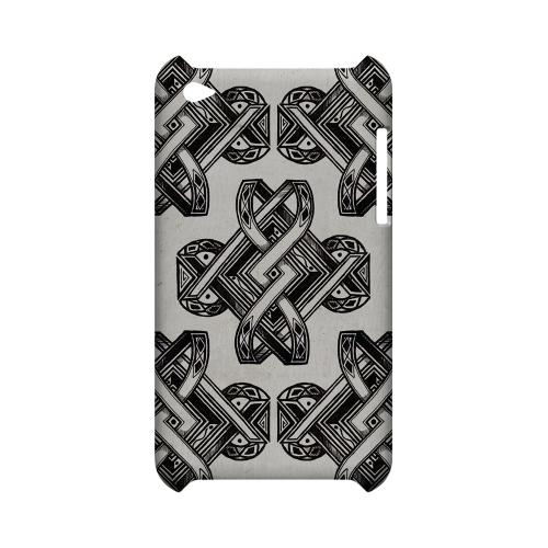 Tribal Art - Geeks Designer Line Tattoo Series Hard Case for Apple iPod Touch 4