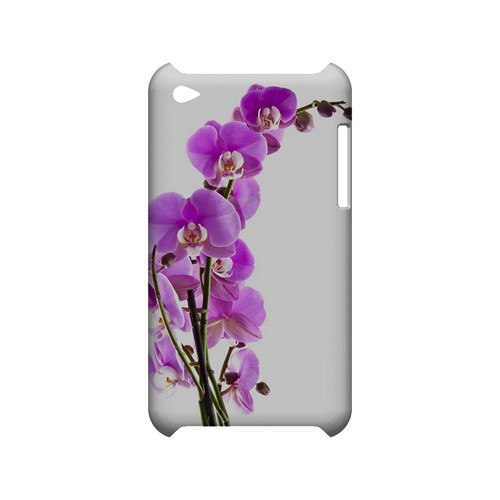 Violet Orchid Rising - Geeks Designer Line Floral Series Hard Case for Apple iPod Touch 4