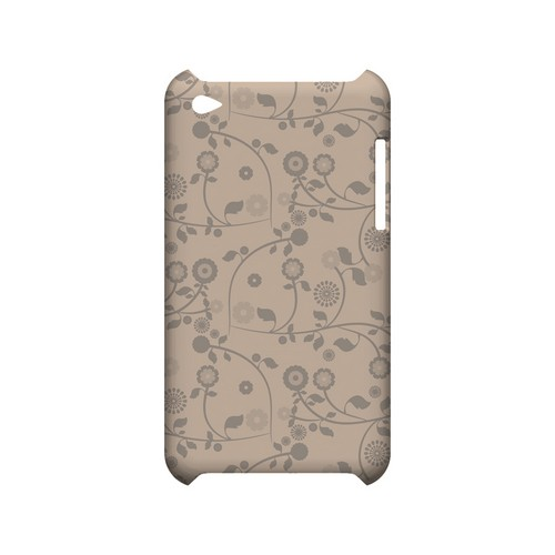 Floral 2 Linen - Geeks Designer Line Pantone Color Series Hard Case for Apple iPod Touch 4