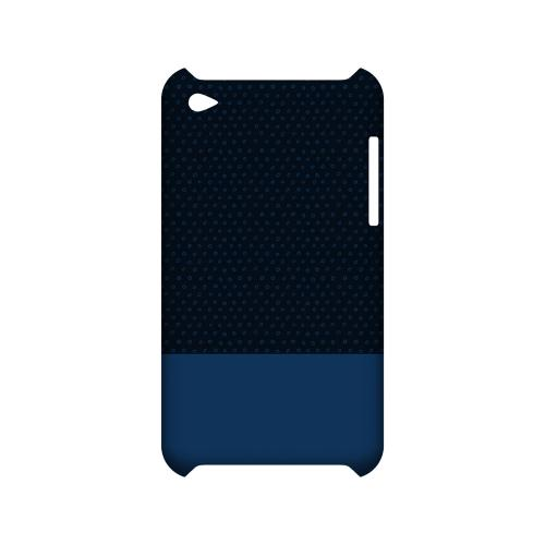 Little Circle Dots Monaco Blue - Geeks Designer Line Pantone Color Series Hard Case for Apple iPod Touch 4